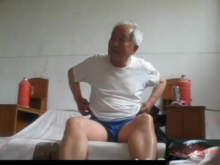 China Age-old Grandpa Uniformly Nudes Added To Peni